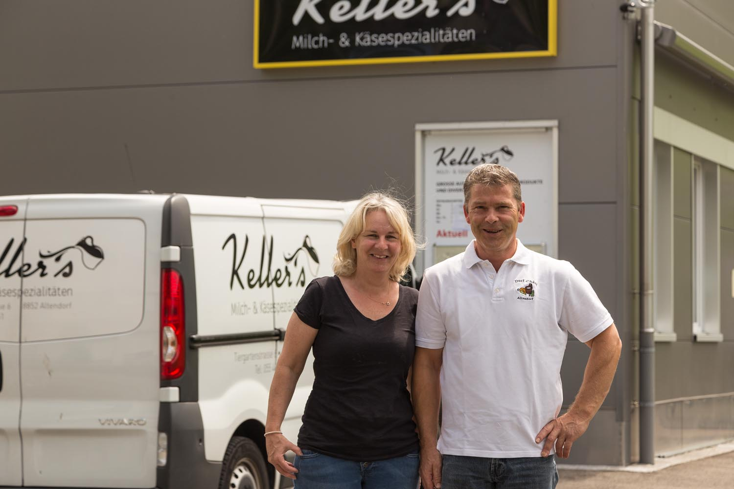Familie Keller in Altendorf SZ